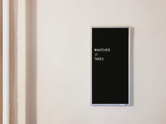 whatever it takes sign