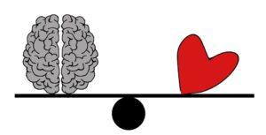 Balance Herz Verstand
